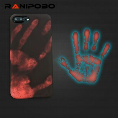 Fashional Thermal Sensor Case for iphone X XS XR XS Max 7 8 6 6s Plus Thermal