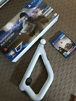 PS4 Farpoint Aim Controller With Box Used Fantastic Condition