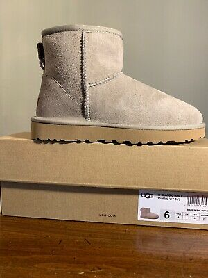 f3cd90dcc2e AUTHENTIC UGG 1016222 Women's Shoes Mini Classic Boot Grey 5 6 7 8 9 ...