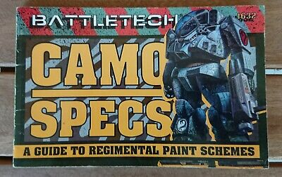 BATTLETECH Camo Specs - A guide to regimental paint schemes - 1632