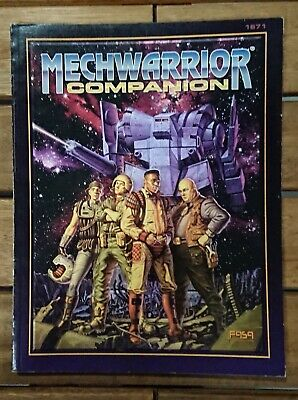 Mechwarrior Companion - A Mechwarrior Source Book - 1671
