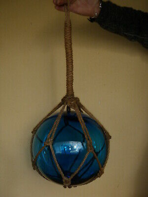 Antique Japanese Glass Buoy / Fishing Float - Vintage / Nautical / Maritime
