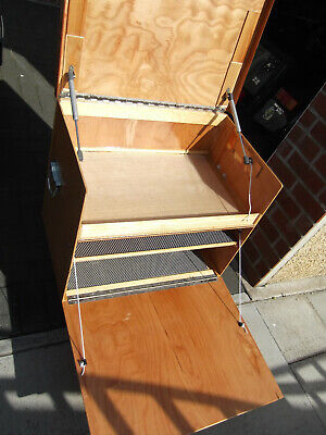 Camping Kitchen Pod - Lift Out - Small - Marine Ply/Varnish Finish