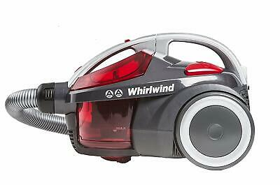 Hoover Whirlwind Bagless Cylinder Vacuum Cleaner, SE71WR01, Lightweight, Compact