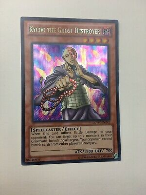LP Common X3 Yu-Gi-Oh Kycoo the Ghost Destroyer SDDE-EN007! 1st