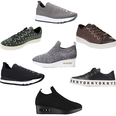 DKNY Trainers Sneakers shoes ladies / Mens Fashion All Sizes & Styles RRP £100