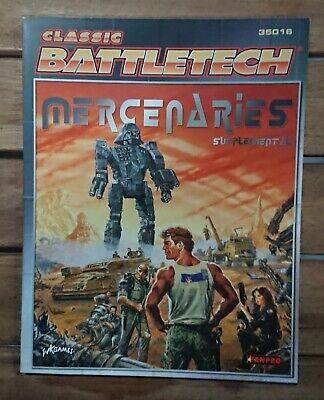 Classic Battletech 35016 - Mercenaries Supplemental