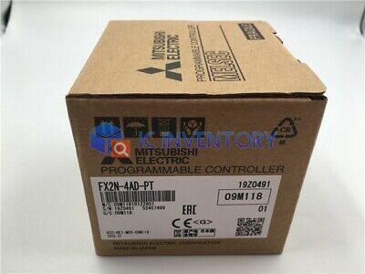 1PCS Mitsubishi PLC FX2N-4AD-PT NEW IN BOX
