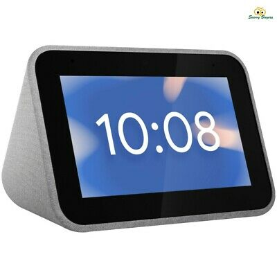 Lenovo Smart Clock with Google Assistant - Bluetooth 5.0 Multi-Room Music - New