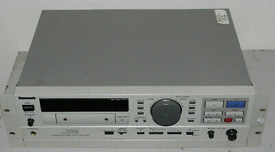 Panasonic sv-3700 professional DAT with rack mount kit for parts or repair
