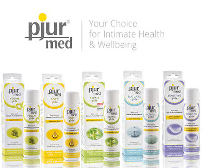 Pjur Med Lubricants | Water Based, Anal, Vaginal Silicone, Free Sex Lube