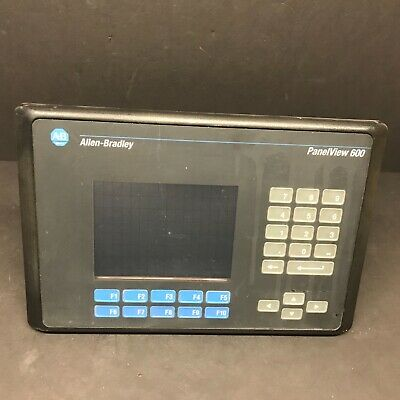 ALLEN-BRADLEY PANELVIEW 600 Color Display & Keypad Terminal