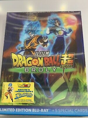 dragon ball super broly Blu-ray+special