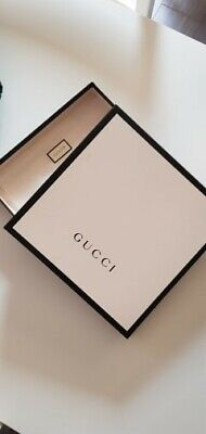 Gucci White and Black Gift Box 26x26