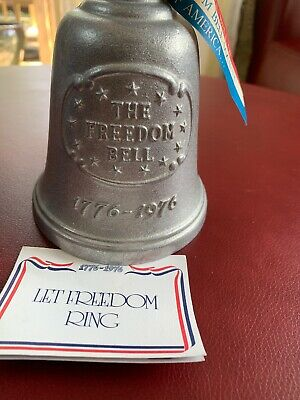 Gorham AH-13 Freedom Bell Liberty Bell 1776-1976 Commemorative Real Bell