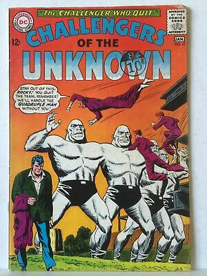 Challengers Of The Unknown # 41 FN+ 6.5 DC Comics 1964