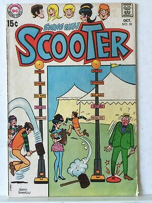Swing With Scooter # 30 FN- 5.5 DC Comics 1970