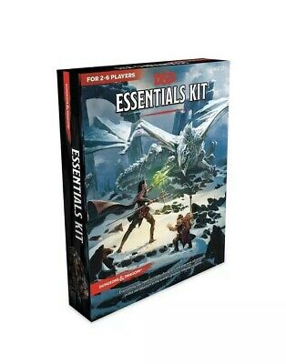 D&D 5E ESSENTIALS KIT Exclusive Dungeons and Dragons 5th Edition IN HAND NEW