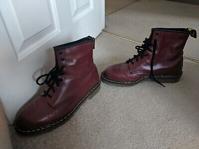 Oxblood Red Tredair Doc Martens Boots Dr Martins Size 12 MENS Made In England