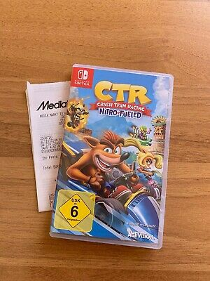 Crash Team Racing Nitro Fueled - Nintendo Switch - Neuwertig mit Rechnung