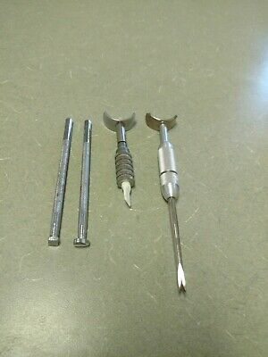 (4) Leather Craft Tools