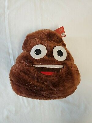 The Iconic Brand Emoji Brown Poop Plush Bank, BRAND NEW WITH TAGS! 💩