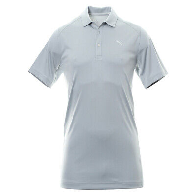 NWT Puma Golf Men's Essential Pounce Polo Quarry Gray You Pick Size MSRP $55