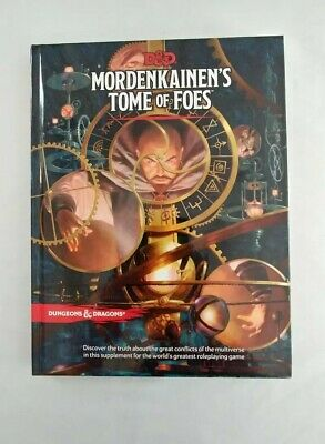 Mordenkainen's Tome of Foes Mint Condition! 5th edition HC D&D
