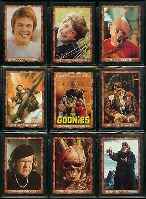 The Goonies - For Sale Is A Topps 1985 Card Set + Sticker Set + Wrapper