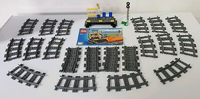 Lego 4520 9V Individual Curved Track Piece Save with Multi Buy 2867 Unboxed