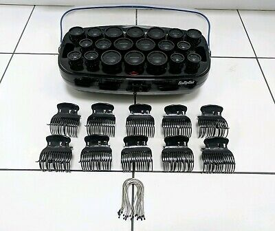 X20 Babyliss Heated Hair Rollers Curlers With Clips & Pins *Free Delivery*