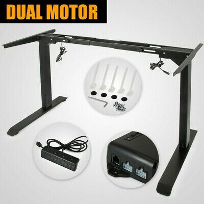 Electric Standing Desk Frame Sit Stand Table Work Desk Home Office US Stock