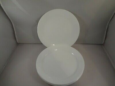 "Corelle Winter Frost White 10 1/4"" Dinner Plates Set of 5"
