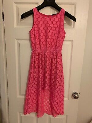Kylie Hot Pink Girls Dress Age 152cm 12