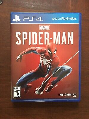 Marvel Spider-Man (PlayStation 4, 2018) PS4 Xbox Avengers Batman
