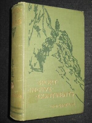 Sport in Five Continents by A E Leatham (1912-1st) China/HK/NZ, Hunting/Shooting