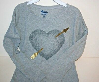 NWT OLD NAVY GIRLS DAISY PATTERN RELAXED FIT HI LO T-SHIRT SIZE L 10-12 $9.94