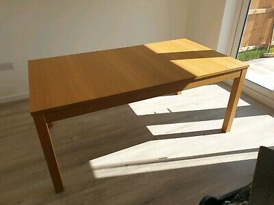 Ikea Bjursta Extending Dining Table Seats Up To 10 Inc 4
