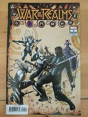 ⭐️ THE WAR of the REALMS #4d (2019 MARVEL Comics) VF/NM