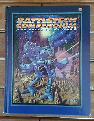 BATTLETECH 1690 - Battletech Compendium - The Rules of Warfare (Hardcover)