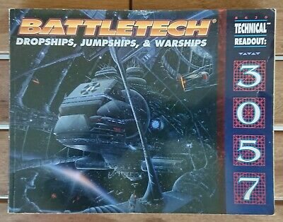 BATTLETECH 8620 - Technical Readout 3057 - Dropships, Jumpships & Warships