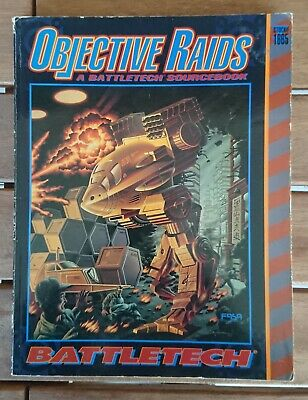 BATTLETECH 1665 - Objective Raids - A Battletech Source Book