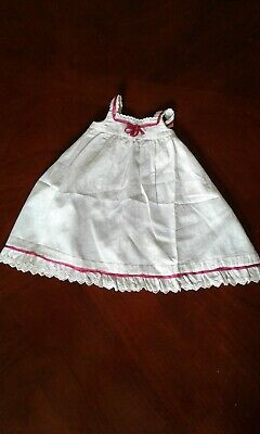 Antique Doll Pinafore- apron style-Adorable