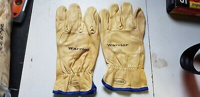 Bulk Pack Leather Riggers Gloves + Free Protective Glasses