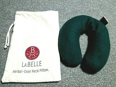 Labelle Herbal Ease Neck Pillow  Moist Heat Aromatherapy Microwaveable 55.00