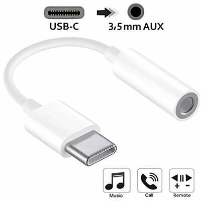 Huawei Audio AUX Headphone Jack Adapter Cable USB-C To 3.5MM For P30 PRO