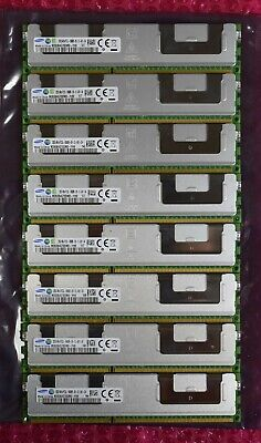 256GB DDR3 RAM (8 x 32GB 4Rx4 PC3L-10600R) Samsung Server Memory Bundle