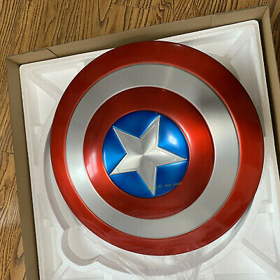 Captain America 75th Anniversary 1:1 Avengers Shield All Alloy Metal For Prop