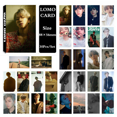1Set KPOP EXO BAEKHYUN Album SOLO UN Village Lomo Card Photo Card PhotoCard