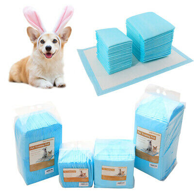 Large Puppy Training Trainer Train Pads Dog Cat Toilet Pee Wee Mat 60X45 60X90CM
